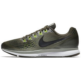 Nike Air Zoom Pegasus 34 Running Shoes Men sequoia/black-dark stucco-volt